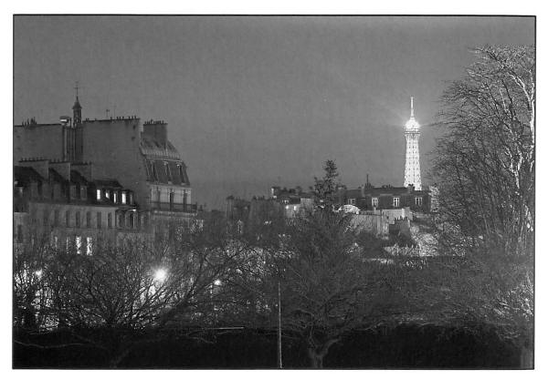パリからの年賀状