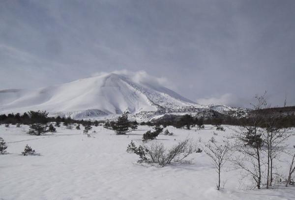 冬の浅間高原