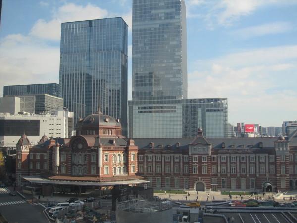 東京駅北口付近