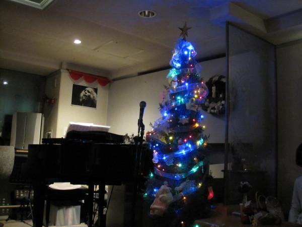 ヴィラージュのクリスマスツリー