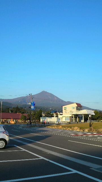 10月11日の磐梯山