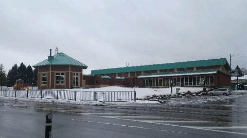 11月14日積もった雪が大分溶けた13時半頃