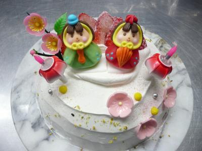 おひな祭りケーキ