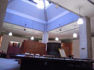 レンガ展示室