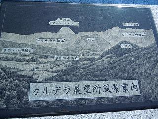 赤井川の看板