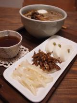 大根ナムルと牛蒡炒り煮