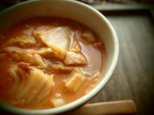 酒粕トマトスープ