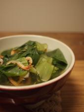 干し海老のスープ