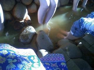 有馬の足湯