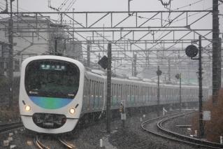 32102F+38104F秋津~所沢and雪
