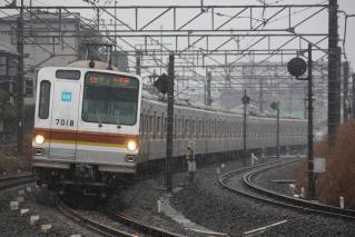 7018F秋津~所沢and雪