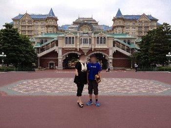 ディズニーホテル前