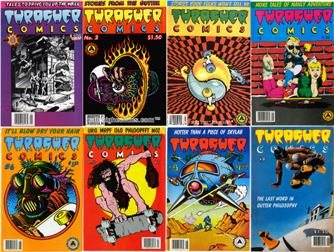 Thrasher Comics covers