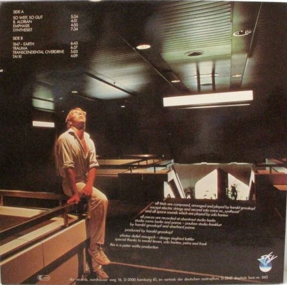 harald grosskopf synthesist blog In summer 1979, harald grosskopf-- a drummer who lived in berlin and had  appeared on recordings by klaus schulze, ash ra tempel,.