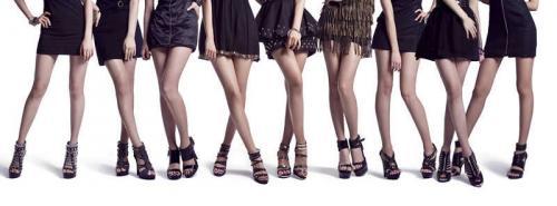 少女時代の脚
