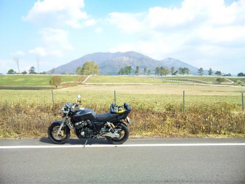 蒜山高原 & CB400SF