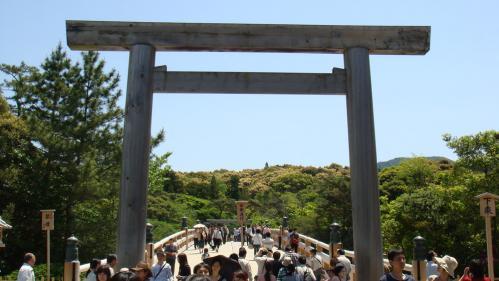 皇大神宮(内宮)、入口