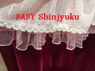 キラキララメストライプ 裾