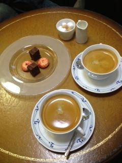 コーヒー&小菓子