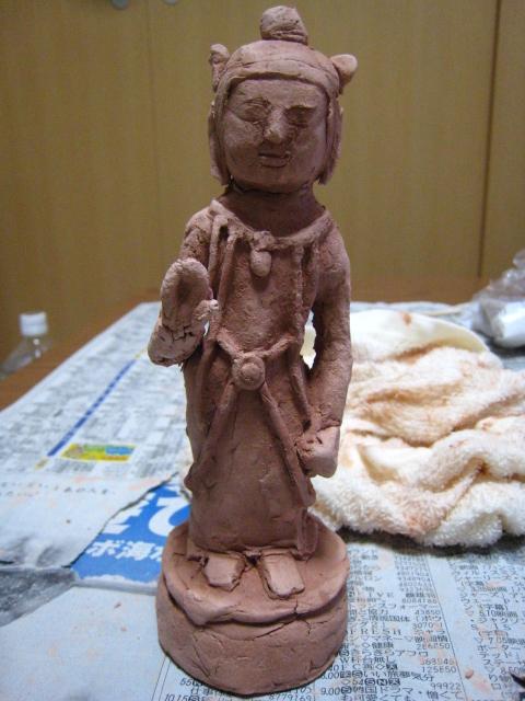 仏像作成7