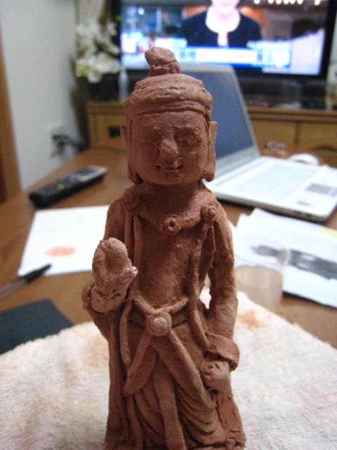 仏像作成8
