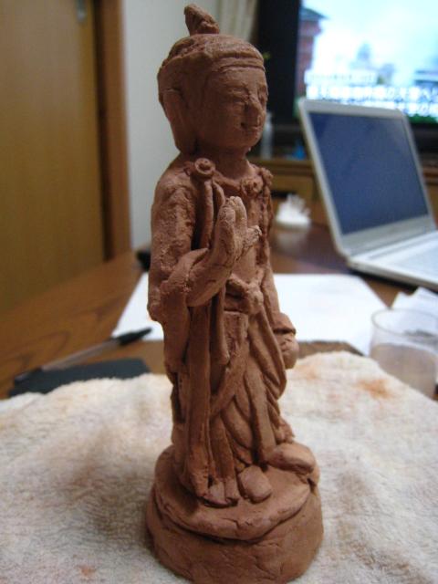 仏像作成9