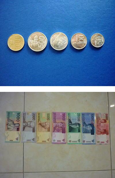 インドネシアのお金ブログサイズ