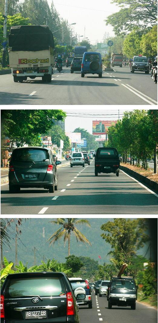 バリの道路ブログサイズ