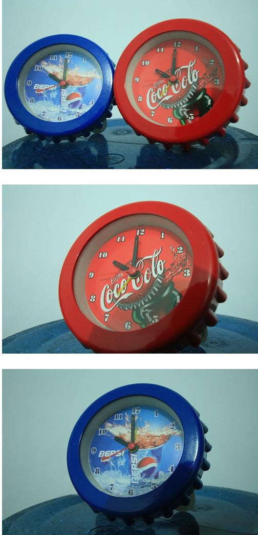 コーラの王冠時計ブログサイズ