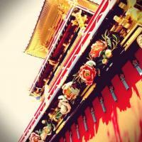 高山祭りの屋台装飾