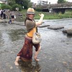 加茂川でみそぐ