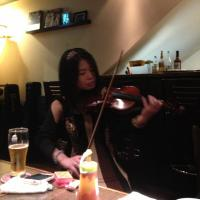 さやかさんバイオリン