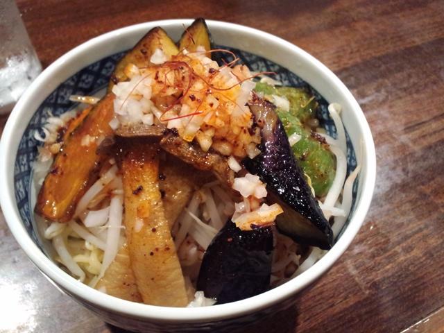 秋野菜のカレーつけ麺