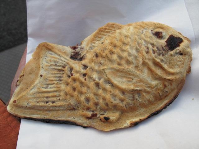 根津の鯛焼き