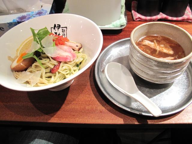 香草塩つけ麺2010Ver