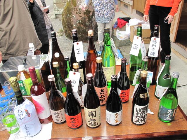 志太泉のお酒達