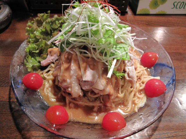 棒々鶏冷麺