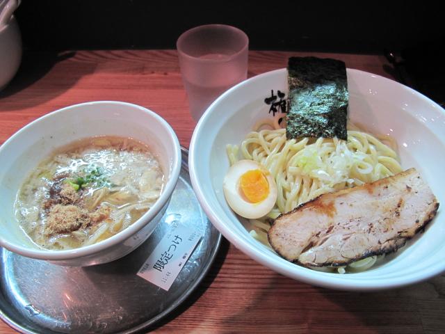 秋茸のつけ麺