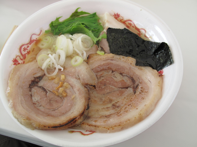 青森地鶏ラーメン(温塩)
