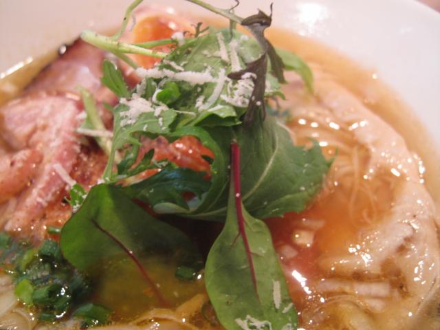 ズワイ蟹塩らー麺
