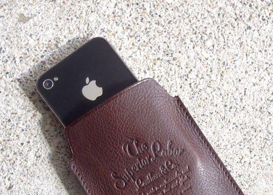 ザシュペリオールレイバー iphone ケース 革