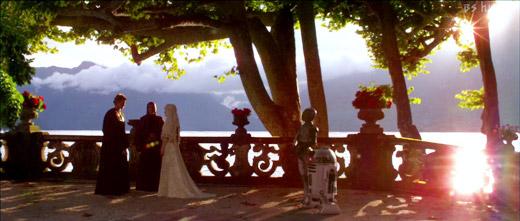 パドメ&アナキンの結婚式