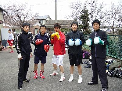 熊谷ジムスパーリング大会(10.4.4)