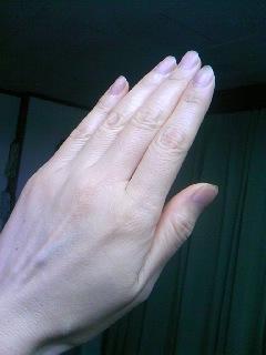 手荒れとは無縁なビーワン美容師の手