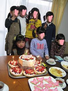 バースデーケーキ&おともだち