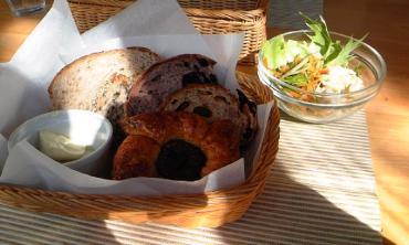 パンのかご盛りセット