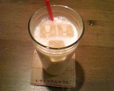 梅黒酢豆乳