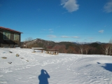 雪の陣馬山