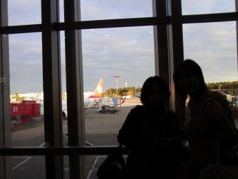 1ウィーンモスクワシェレメチェボ空港にて