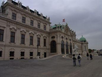 1ウィーンベルヴェデーレ宮殿